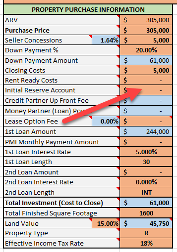 Initial Reserve Account