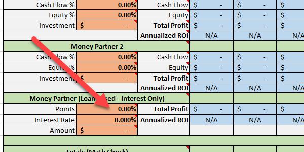 Money Partner (Loan Based - Interest Only) Points